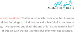 Repentance: Its Meaning And Conditions – By Shaykh Saalih Al-Fawzaan