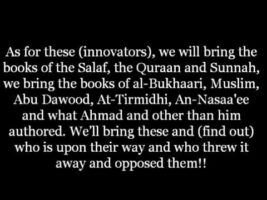 Between Us and You are The Books of the Salaf | Shaykh Rabee ibn Hadee Al Madkhali