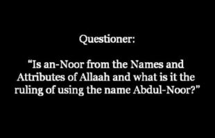 Is an-Noor from the Names and Attributes of Allaah? | Shaykh Zayd al-Madkhalee