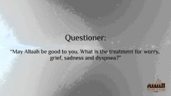 What is the Treatment for Worry, Grief, Sadness and Dyspnea?